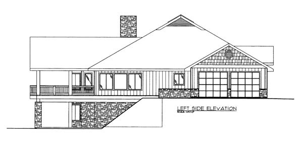 House Plan 86614 with 2 Beds, 3 Baths, 2 Car Garage Picture 1
