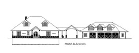 House Plan 86618 Elevation