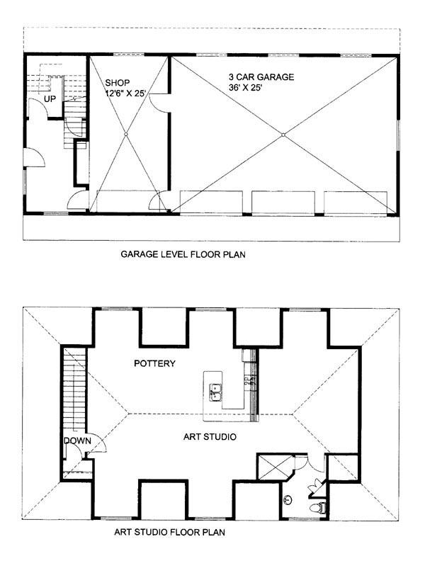House Plan 86618