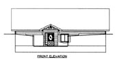 Plan Number 86626 - 1824 Square Feet