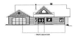 House Plan 86628 Elevation
