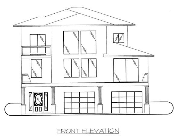 Southwest House Plan 86630 Elevation