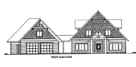 House Plan 86631 with 4 Beds, 5 Baths, 2 Car Garage Elevation