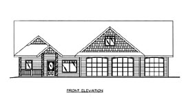 Traditional House Plan 86632 Elevation