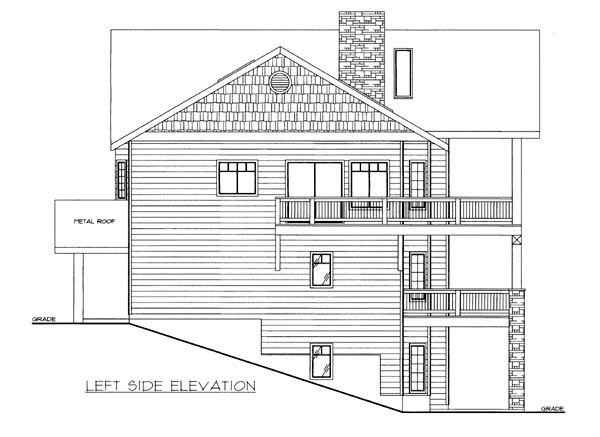 House Plan 86638 with 3 Beds, 4 Baths, 2 Car Garage Picture 1