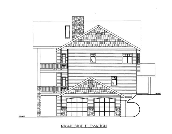 House Plan 86638 with 3 Beds, 4 Baths, 2 Car Garage Picture 2