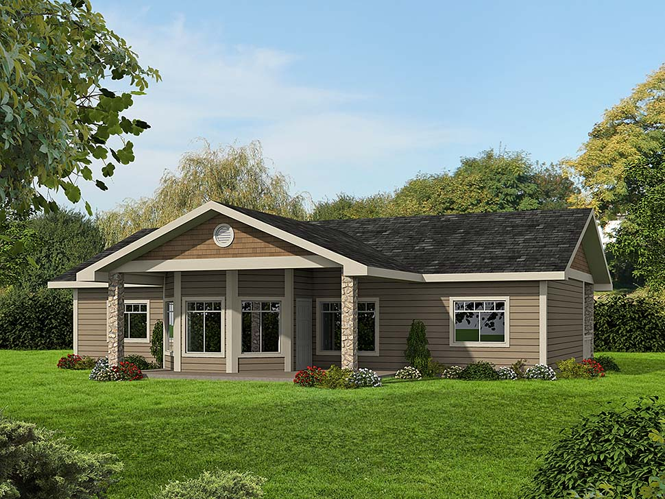 Craftsman House Plan 86639 Elevation