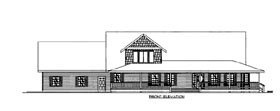 House Plan 86641 Elevation