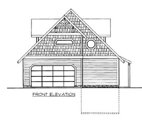 House Plan 86644 with 3 Beds, 3 Baths, 2 Car Garage Elevation