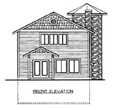Plan Number 86645 - 1453 Square Feet