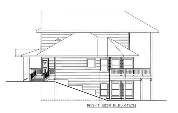 House Plan 86646 with 5 Beds, 4 Baths Picture 1