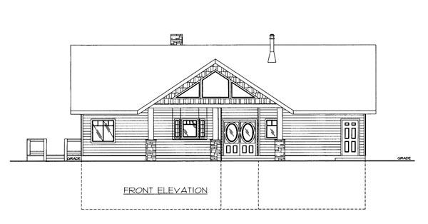 House Plan 86651