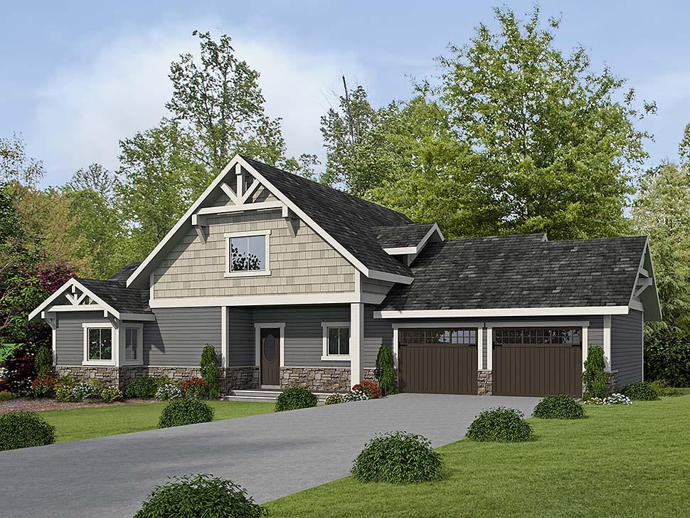 House Plan 86661 Elevation