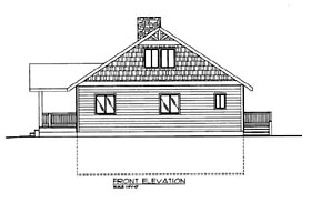 House Plan 86663 with 3 Beds, 3 Baths Elevation