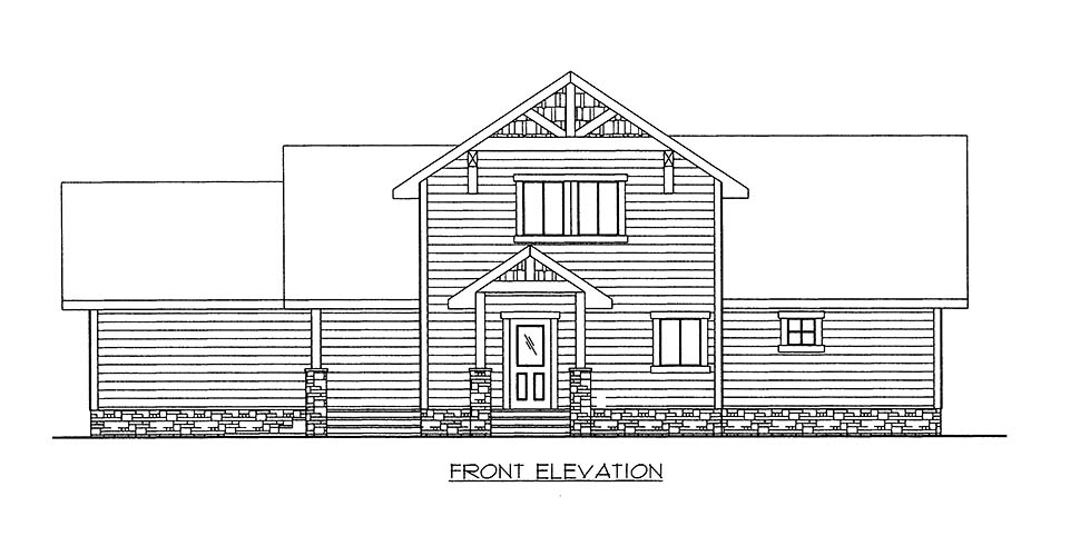 House Plan 86667 with 2 Beds, 2 Baths Picture 1