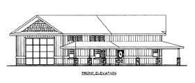 House Plan 86668 Elevation