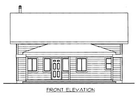 Plan Number 86671 - 1632 Square Feet