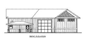 House Plan 86672 Elevation