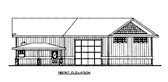 Plan Number 86672 - 1302 Square Feet