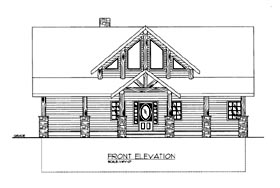 House Plan 86680 with 3 Beds, 3 Baths Elevation