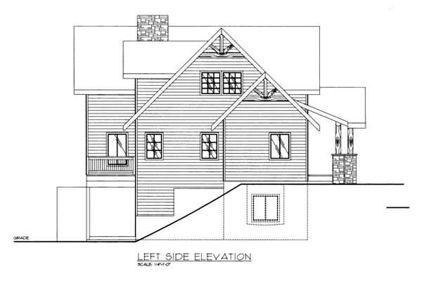 House Plan 86680 with 3 Beds, 3 Baths Picture 1