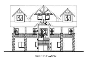 House Plan 86689
