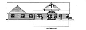 House Plan 86692 with 3 Beds, 3 Baths, 2 Car Garage Elevation