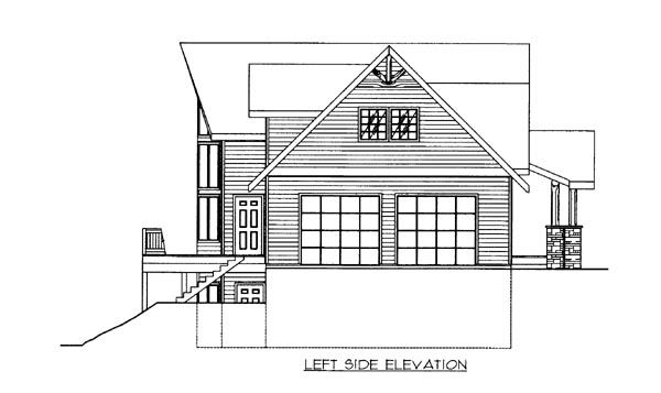 House Plan 86692 with 3 Beds, 3 Baths, 2 Car Garage Picture 1