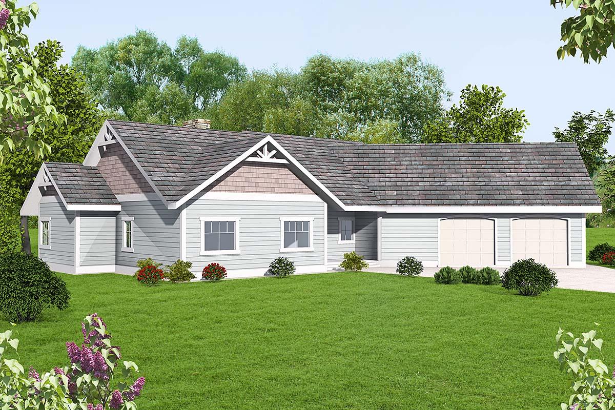House Plan 86699 Elevation