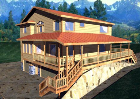 Traditional House Plan 86701 Elevation