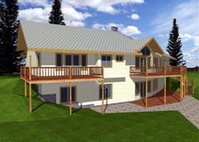 Traditional House Plan 86704 Elevation