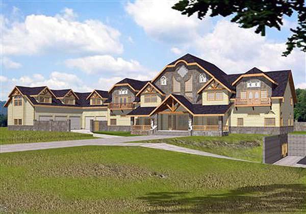 Tudor House Plan 86706 Elevation