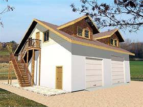 Garage Plan 86713