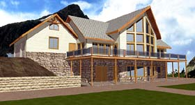 Contemporary House Plan 86716 Elevation