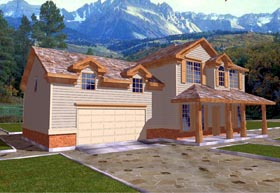 Traditional House Plan 86721 Elevation