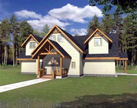 Traditional House Plan 86724 Elevation