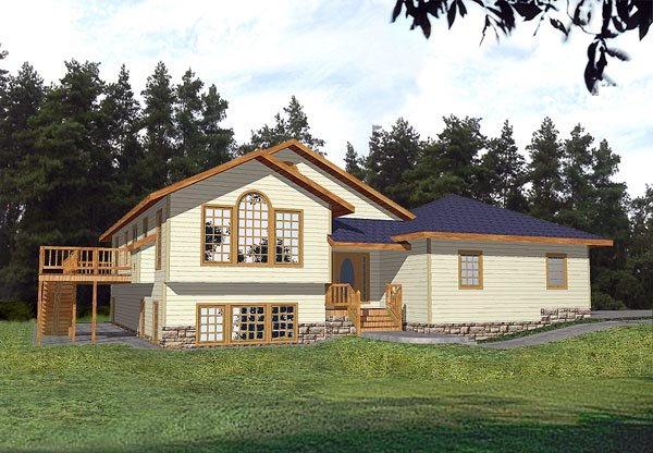 Traditional House Plan 86730 Elevation