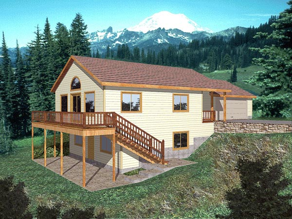 Traditional House Plan 86732 Elevation