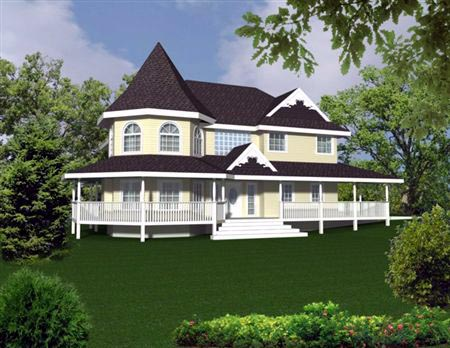 Victorian House Plan 86733 Elevation