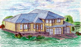 Traditional House Plan 86734 Elevation