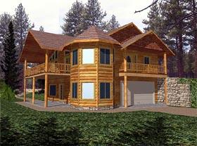 Victorian House Plan 86736 Elevation