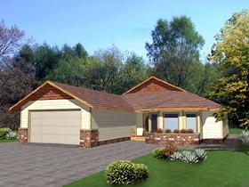 Bungalow House Plan 86738 Elevation