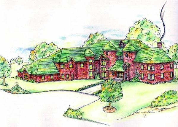 Victorian House Plan 86741 Elevation