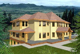 Traditional House Plan 86745 Elevation
