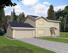 House Plan 86751