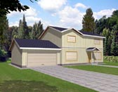 Plan Number 86751 - 1864 Square Feet