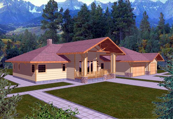 Traditional House Plan 86752 Elevation