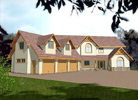 Country House Plan 86754 Elevation