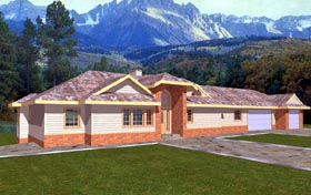 Bungalow House Plan 86755 Elevation