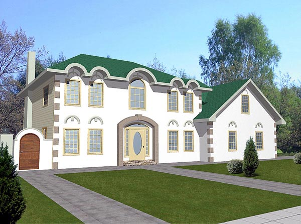 House Plan 86759 | Victorian Style Plan with 2800 Sq Ft, 2 Bedrooms, 3 Bathrooms, 3 Car Garage Elevation